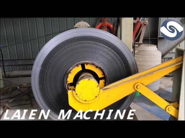 High speed metal sheet cut to length machine line