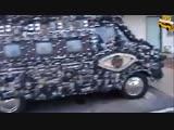Camera Van - автомобиль из фотокамер