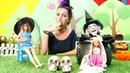 Barbie Cadılar Bayramı partisine hazırlanıyor Özge'nin kafesi