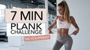 7 MIN PLANK CHALLENGE / No Equipment   Pamela Rf