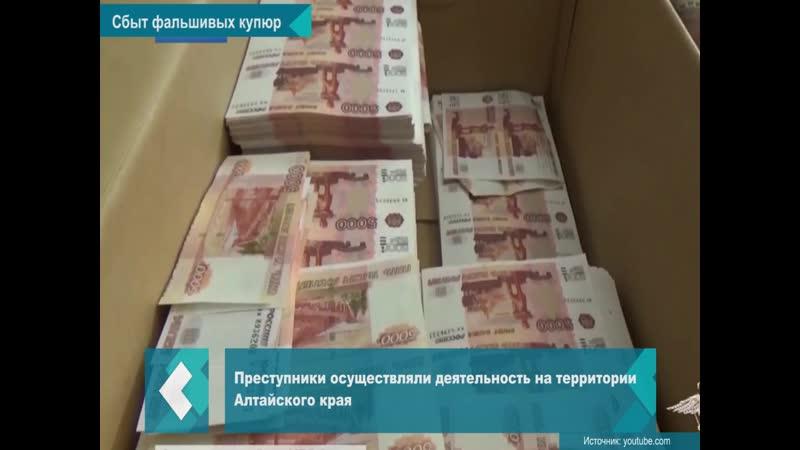 Сбытчиков фальшивых купюр задержали в Новосибирске