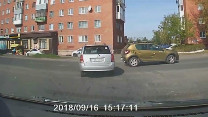Авария на шинной Омск