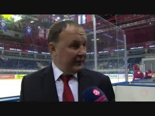 Лига чемпионов накажет главного тренера минской Юности Михаила Захарова за критику судейства сразу по окончании поединка группов