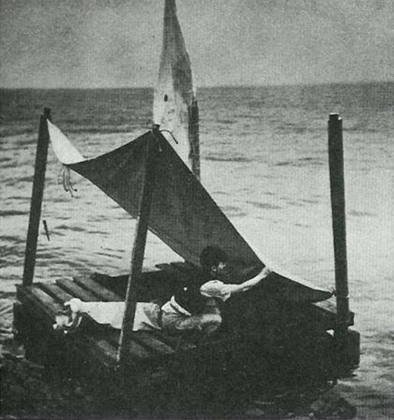 133 ДНЯ НА ПЛОТУ В ОКЕАНЕ 77 лет назад бразильские рыбаки спасли человека, который, как оказалось, установил невероятный рекорд. Китайский моряк Пань Лянь (англ. Poon Lim), став жертвой