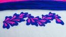 Hand Embroidery New Border Line Design by Nakshi Kantha World