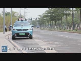Первые беспилотные такси появились на улицах в Гуанчжоу