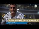 INTER FOREVER vs BARÇA LEGENDS HIGHLIGHTS Bobo Vieri scores twice