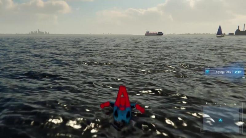 [Spider-man] Treyarch Spider-man cant swim Insomniac Hold my beer