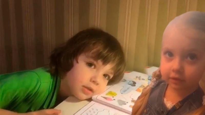 ГАРРИ ГАЛКИН на французском допросе. ЛИЗА И ГАРРИ ГАЛКИНЫ учат французский. НОВОЕ ВИДЕО 2018