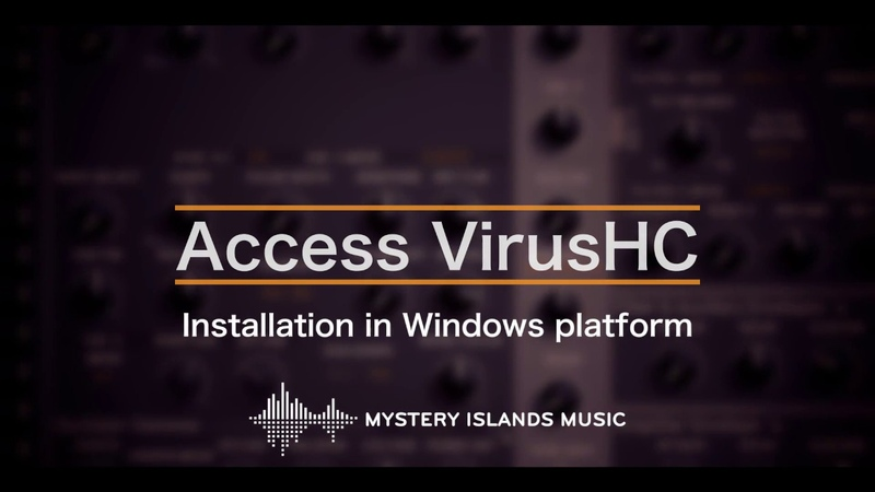 Access VirusHC Download Install Windows and macOS
