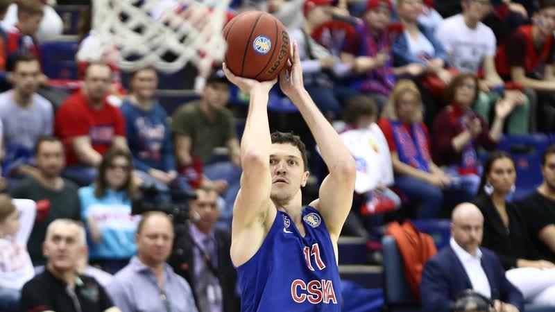 5619 | Финал, Игра 1 | Семен Антонов забил 4 трехочковых в 3-й четверти