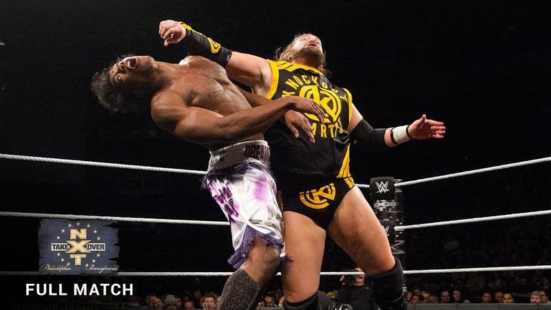 [My1] Velveteen Dream vs. Kassius Ohno: NXT TakeOver: Philadelphia 2018