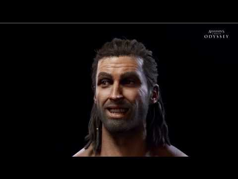 Assassins Creed Odyssey Facial FACS Rig