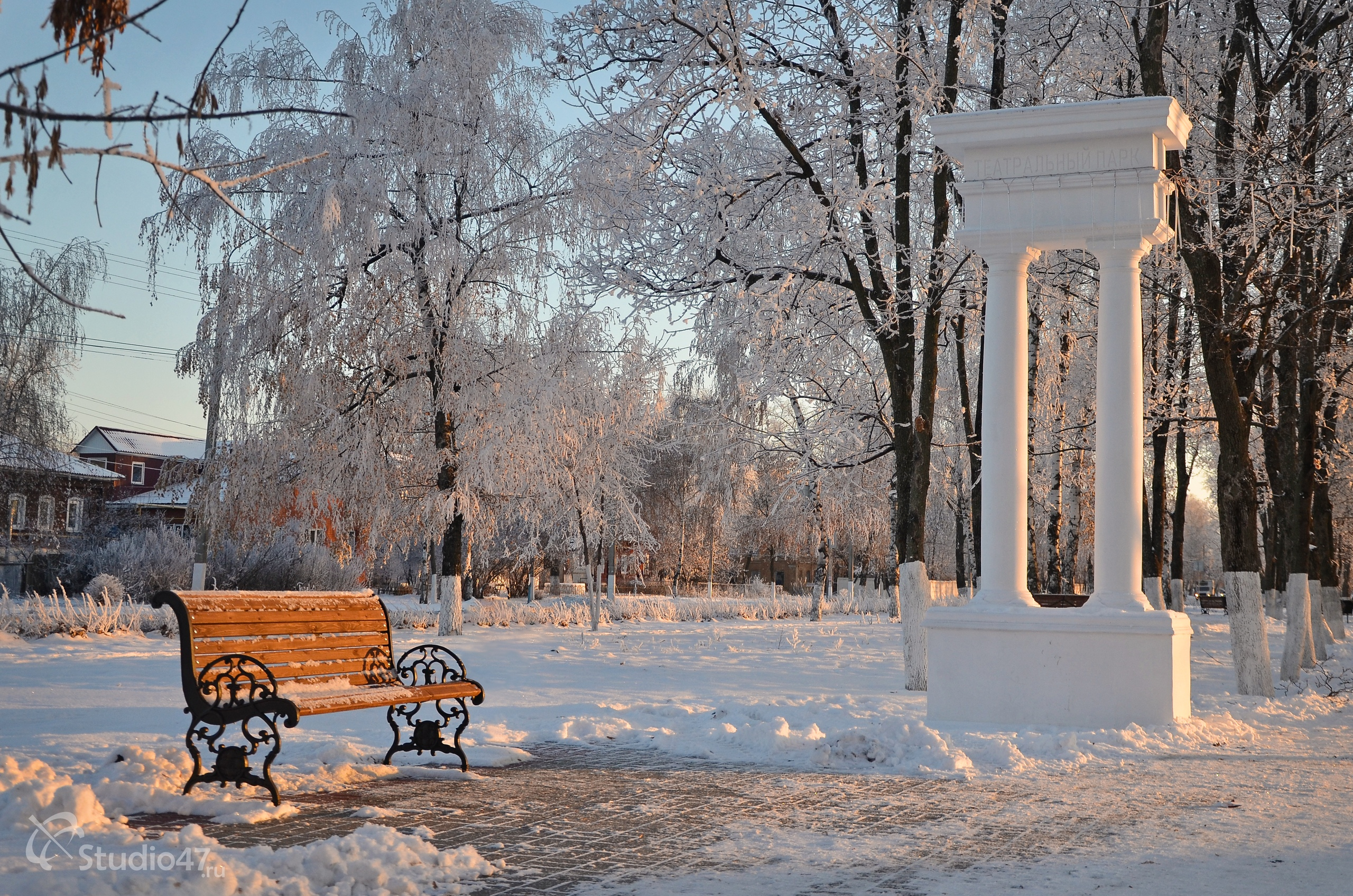 Театральный парк Борисоглебска