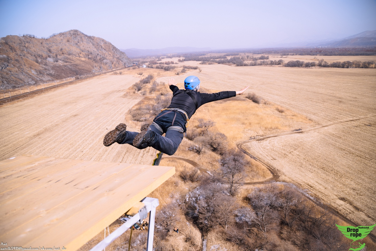 Афиша Владивосток Первые прыжки в новом году! Скала 65м