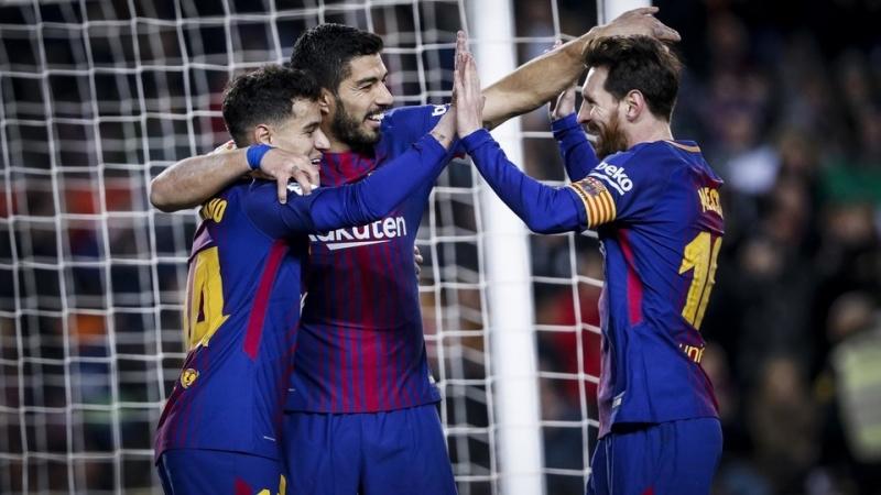 6 голов в ворота Жироны на Камп Ноу в сезоне 2017 18 смотреть онлайн без регистрации