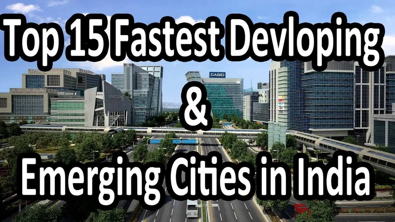 Top 15 Fastest Developing and Emerging Cities in India | INDIAN BESTEST|
