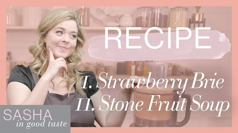 What I Eat (Party Edition) Soup Sweets Recipes | Sasha In Good Taste | Sasha Pieterse Sheaffer