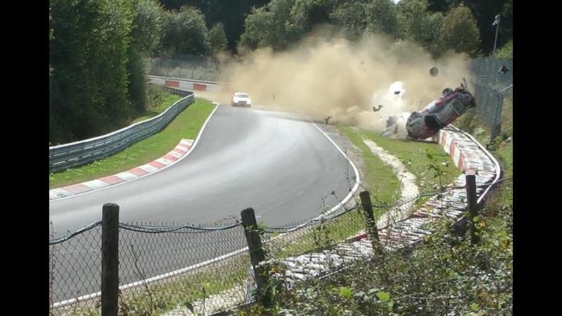 Nürburgring Motorsport CRASH Porsche 911 GT3 Cup - Race 2018 Nordschleife