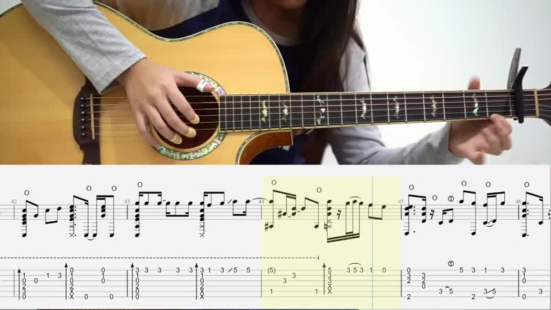 Charlie Puth Attention Fingerstyle TABS ¦ Josephine Alexandra
