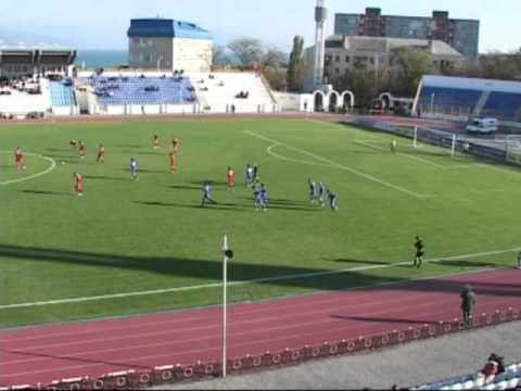 Черноморец Новороссийск - Машук-КМВ Пятигорск, 2-1 (1-1)