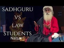 Should I stand up for national anthem Sadhgurus heated debate with Law Students