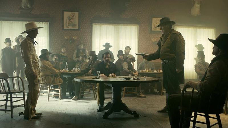 Ballad of Buster Scruggs - Saloon scene