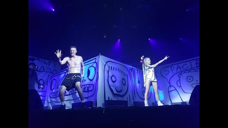 Die Antwoord live Moscow 10.08.2018 Adrenaline Stadium