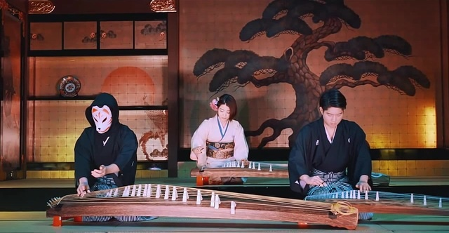 Shape of You - TRiECHOES (Ed Sheeran Cover)   Traditional Japanese Harp 箏 KOTO
