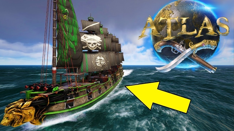 How To Build Paint An Epic Galleon! Atlas Pirate MMO Ship Building Gameplay E6 [The Titan Company]