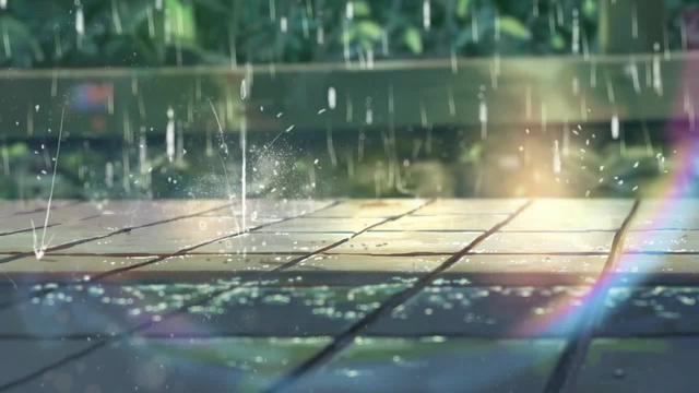 Это просто дождь. it's just rain