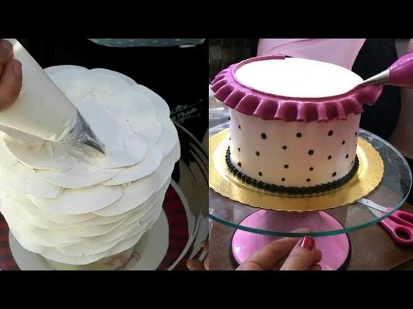 30 УДИВИТЕЛЬНЫЕ УКРАШЕНИЯ ТОРТОВ 30 AMAZING DECORATIONS OF CAKES
