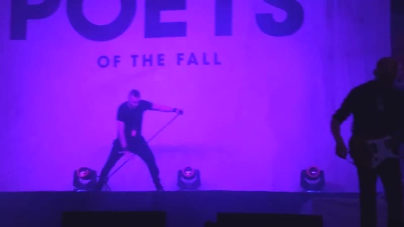 Poets of the Fall - The Sweet Escape / Brighter Than The Sun @ Kolkata 03.11.2018