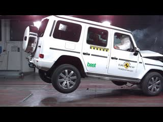 2019 mercedes g-class - crash test | краш-тест гелендвагена