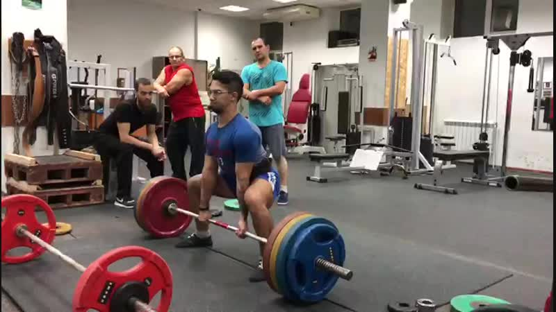 Тяга 180 кг (провалено)