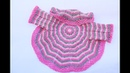 ABRIGO EN REDONDO A CROCHET MUY FÁCIL DE HACER MAJOVEL crochet ganchillo