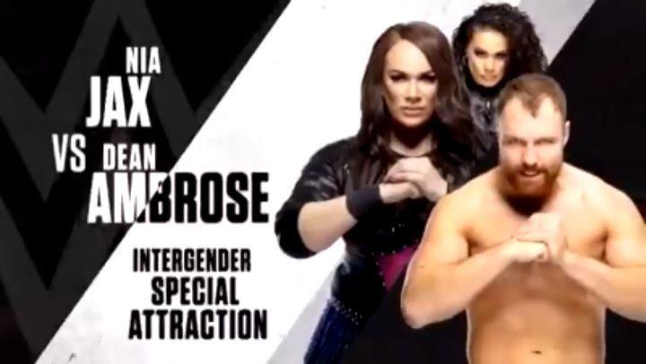 """Espaço Wrestling on Instagram: """"A WWE esta anunciando uma Intergender Match entre Nia Jax e Dean Amb"""