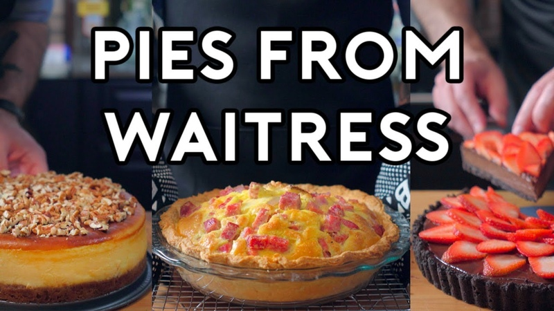 Binging with Babish: Pies from Waitress