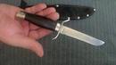 Нож НР-40 (порошковая сталь UDDEHOLM ELMAX ) в 2 korenok