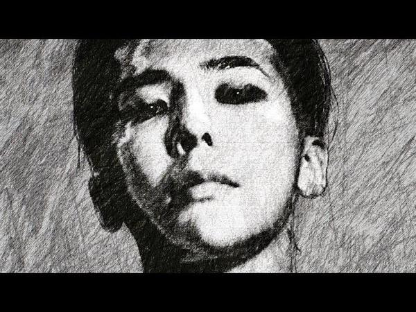 빅뱅 지드래곤 권지용 그리는 방법 How to draw BIGBANG G DRAGON