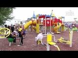 Инклюзивная детская площадка открылась на базе школы-интерната №95 в Канавинском районе