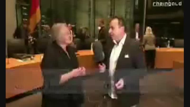 Frau Barbe CDU aus dem Bundestag: Rechtsbrüche der Regierung