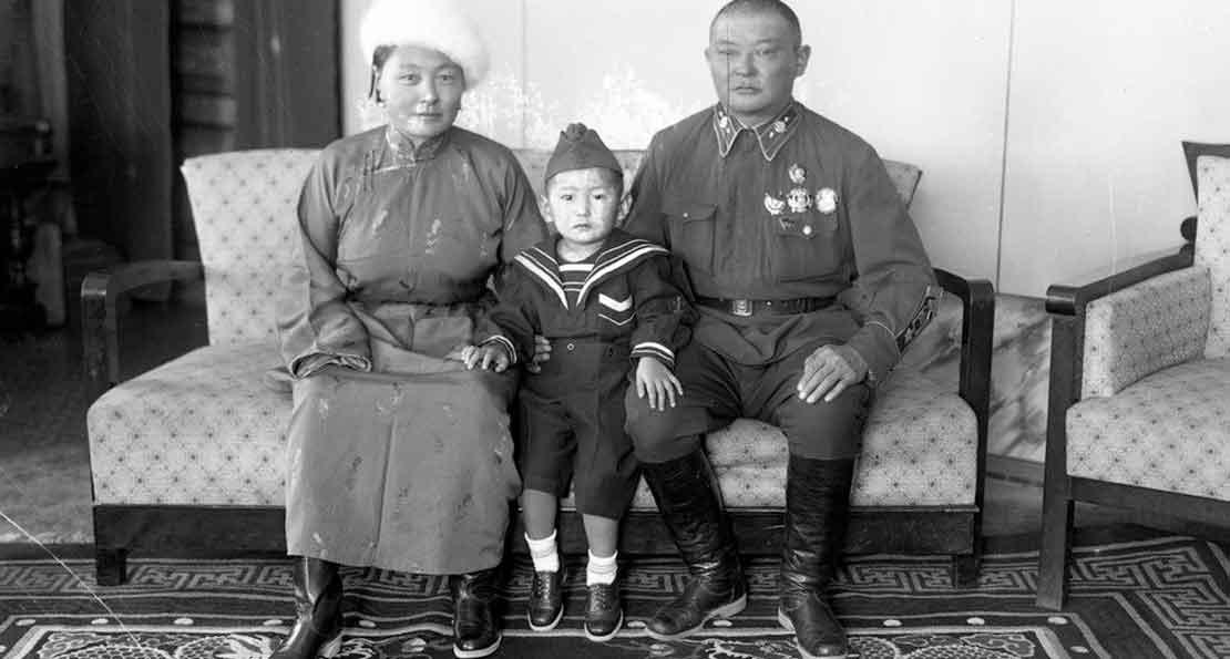 Семья Чойбалсана