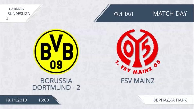 AFL18. Germany. Bundesliga 2. Final. Borussia Dortmund-2 - FSV Mainz