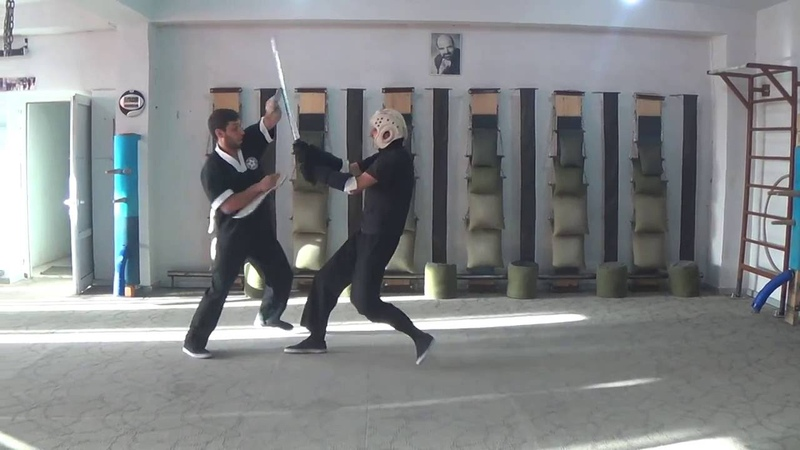 Armenian Wing Tsun Bart Cham Dao Butterfly Swords vs Katana Sifu Sargis Harutyunyan
