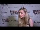 Интервью для «ODE» на премьере фильма «Святой Моисей» на кинофестивале «Raindance» в Лондоне, Великобритания 06.10.18