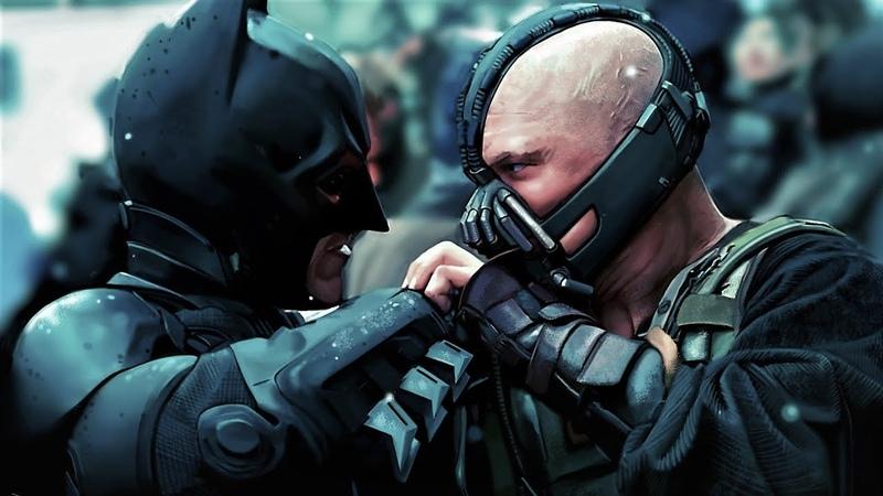 Бэтмен против Бэйна. Тёмный рыцарь Возрождение легенды
