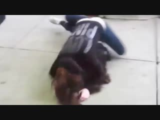 white girl kicking ass - YouTube