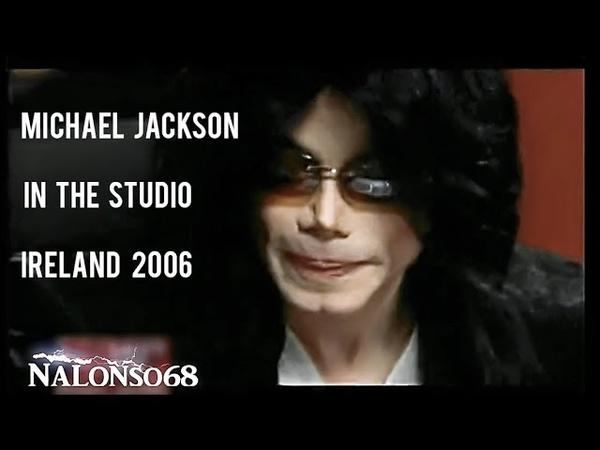 Michael Jackson in the Studio Recording the Interview Ireland 2006 HD