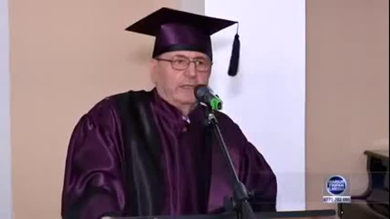 Dumitru Constantin Dulcan distins de Universitatea de Stat cu Doctor Honorius Causa